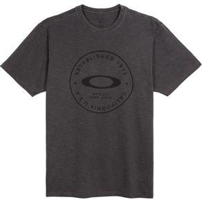 Camiseta-Oakley-Fraction-Washed-Tee-Masculino---Preto